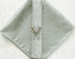 Jacquard Silver napkin