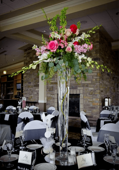 glass vase centerpiece 6