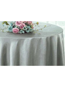 Satin Tablecloth Silver