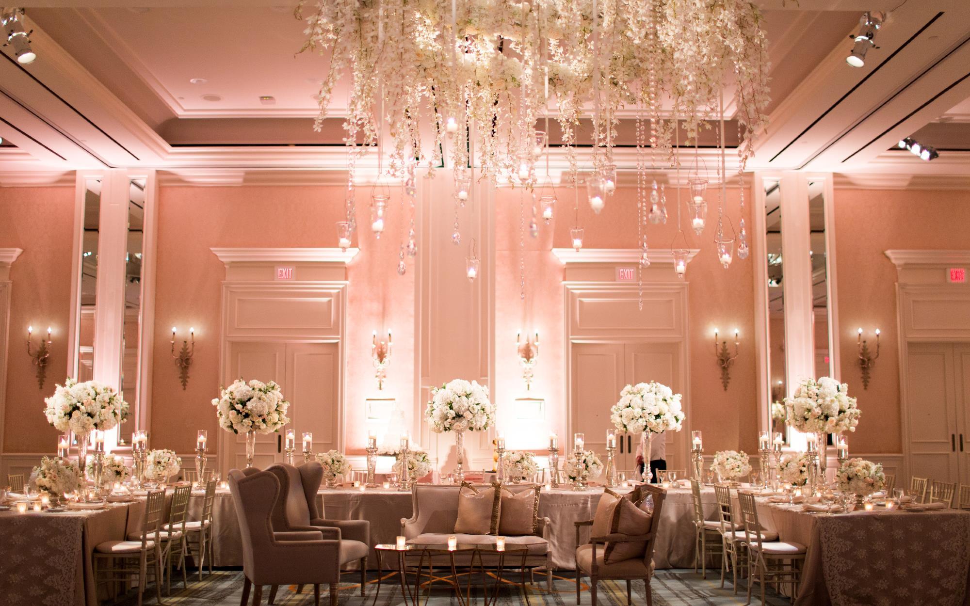 Blush Room Uplighting
