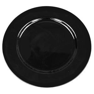 Acrylic Chargers black