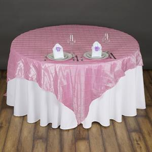 Pintuck Taffeta Overlay pink