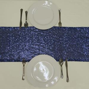 Sequin Table Runners navy