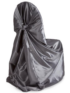 Universal Chair Cover Silver